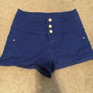 Charlotte Russe Refuge High Waisted Shorts